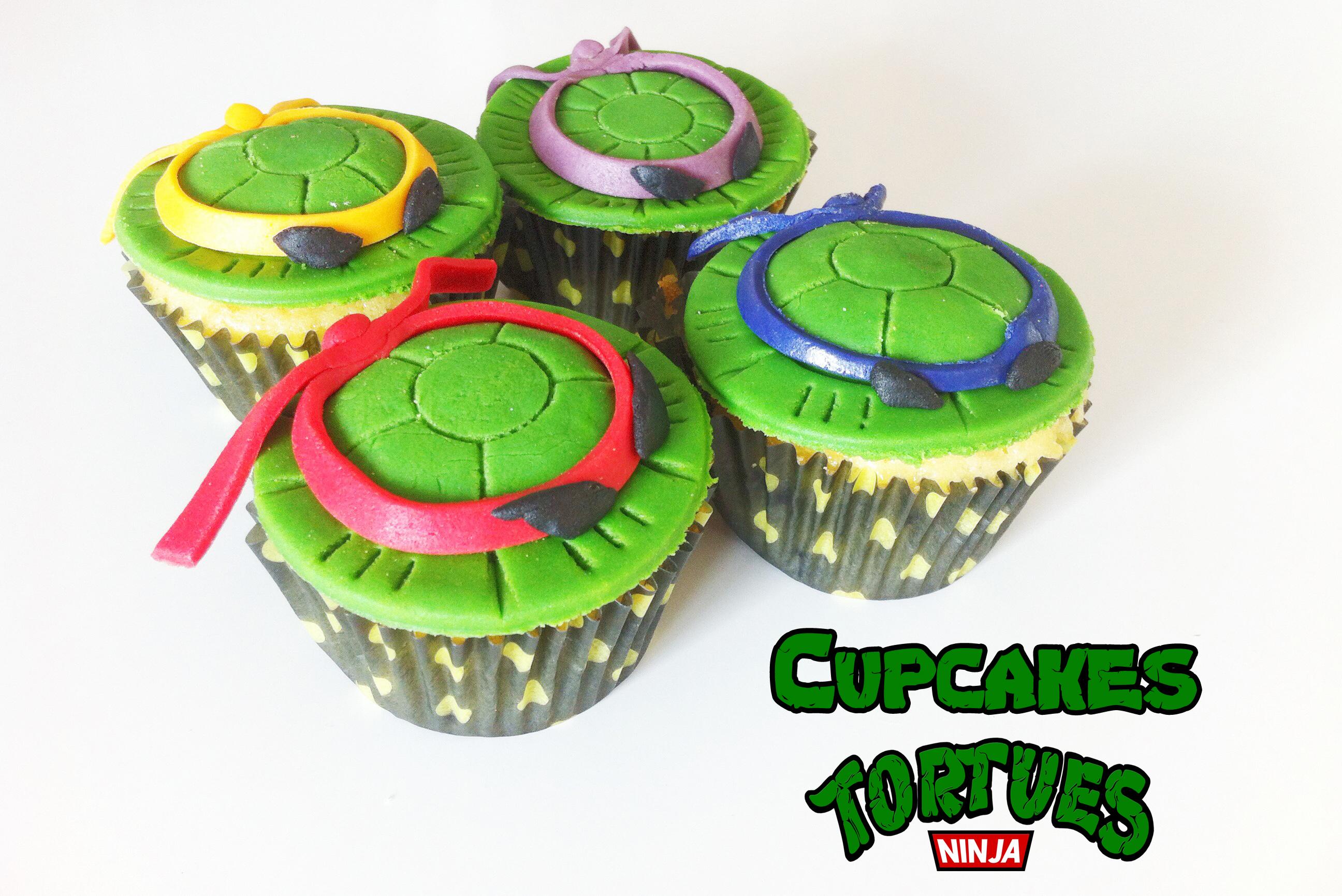 Cupcakes tortues ninja fafacupcake - Image tortue ninja ...