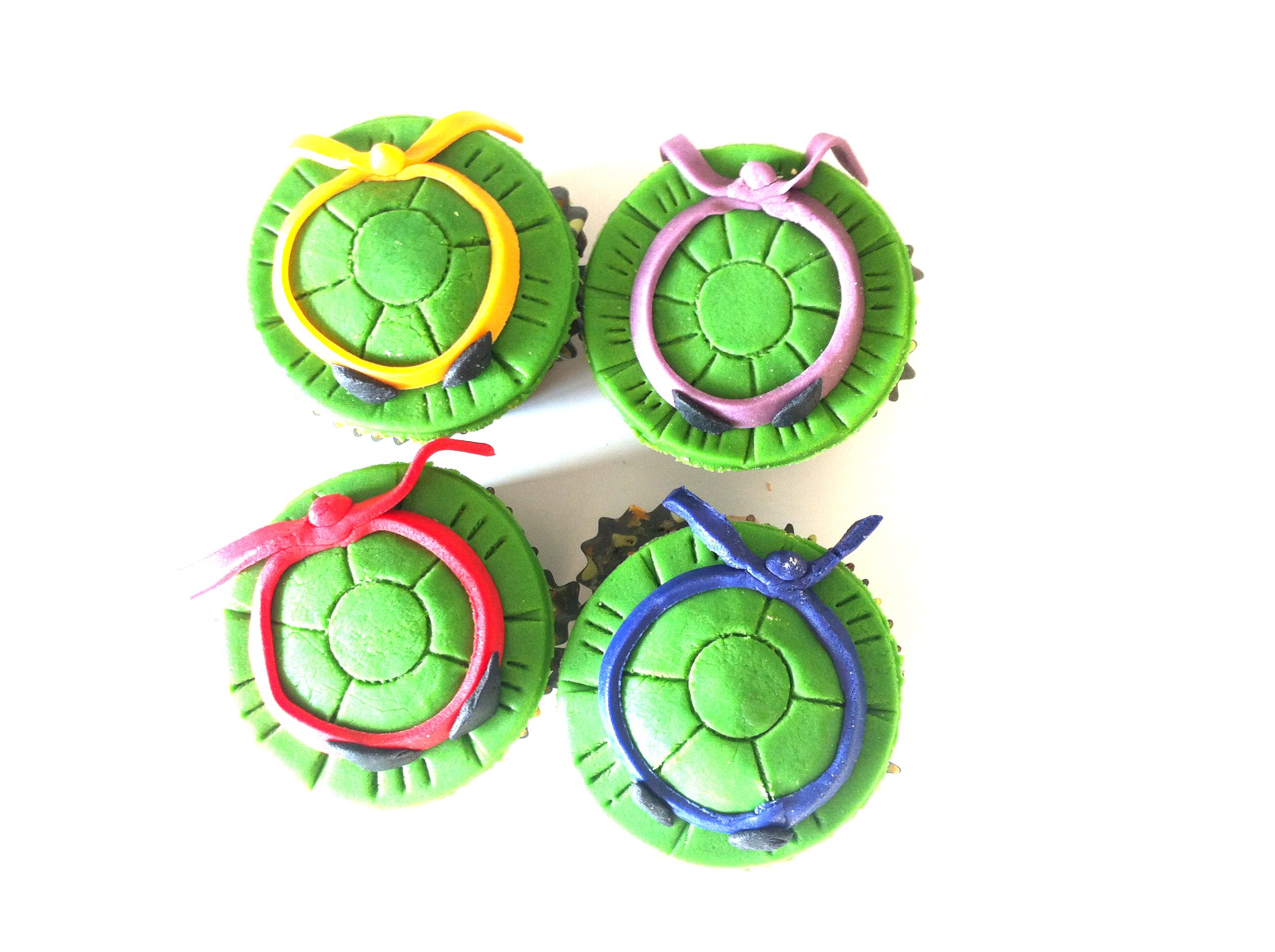 Cupcakes tortues ninja fafacupcake - Du bruit dans la cuisine part dieu ...